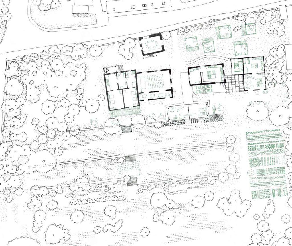 Grosser Garten Plan Atelier Fanelsa, 2018